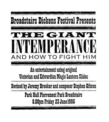 the giant intemporance